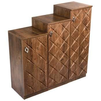 جاکفشی صنایع چوب قائم مدل K604