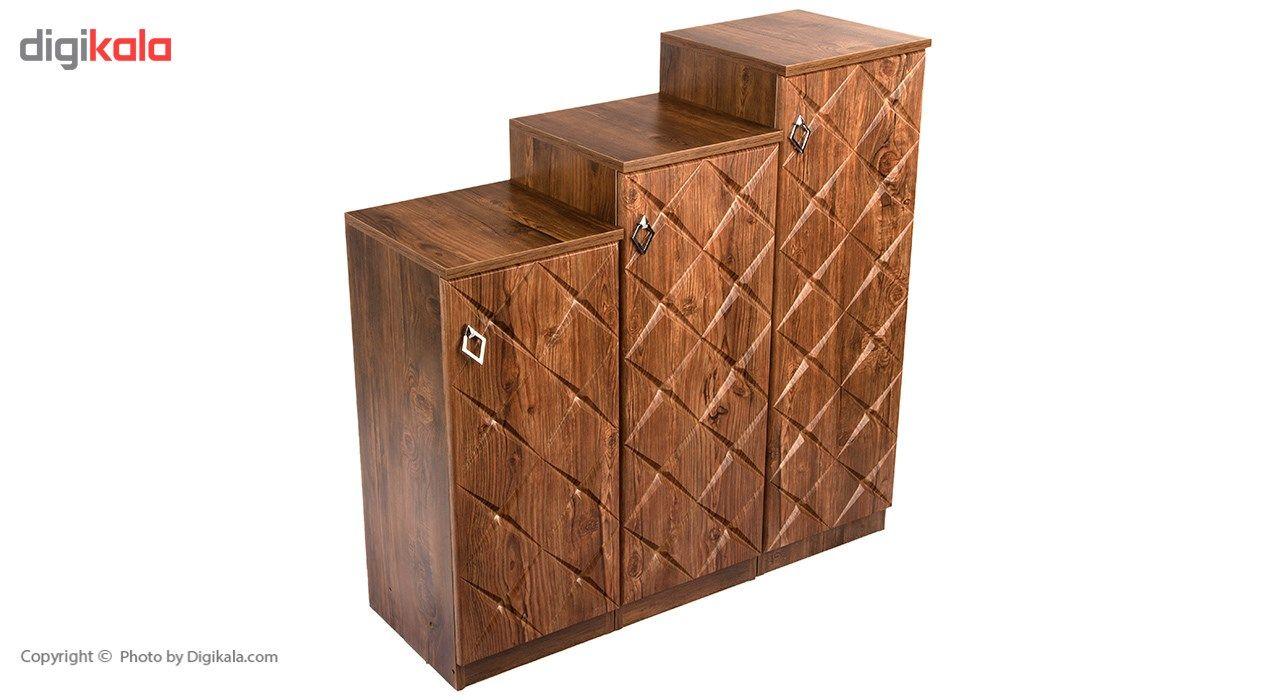 جاکفشی صنایع چوب قائم مدل K604 main 1 1