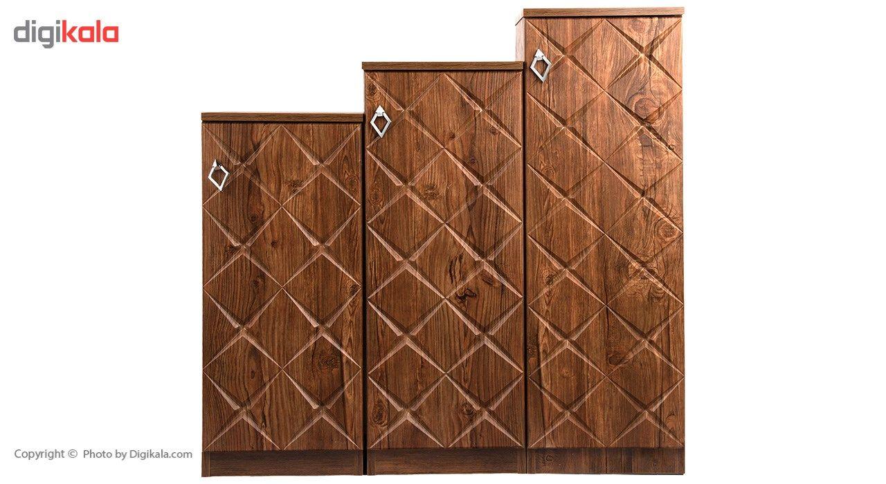 جاکفشی صنایع چوب قائم مدل K604 main 1 2