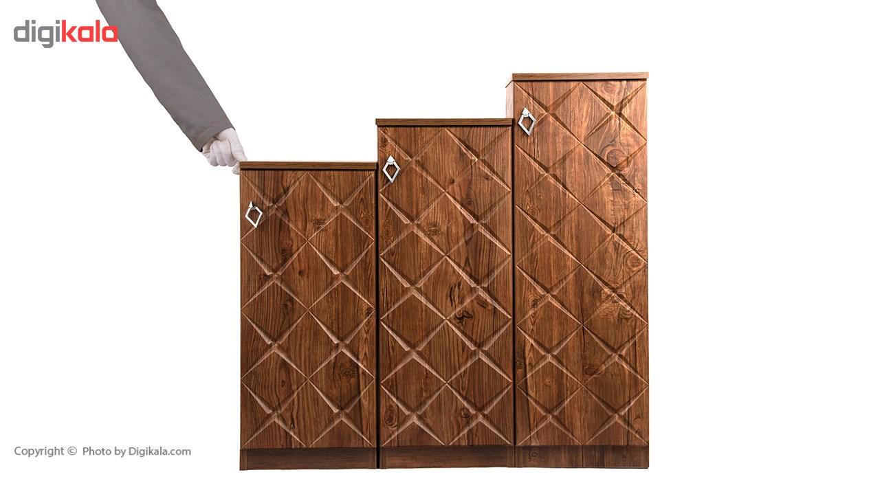 جاکفشی صنایع چوب قائم مدل K604 main 1 3