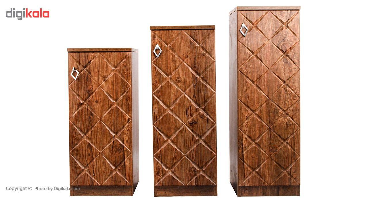 جاکفشی صنایع چوب قائم مدل K604 main 1 4