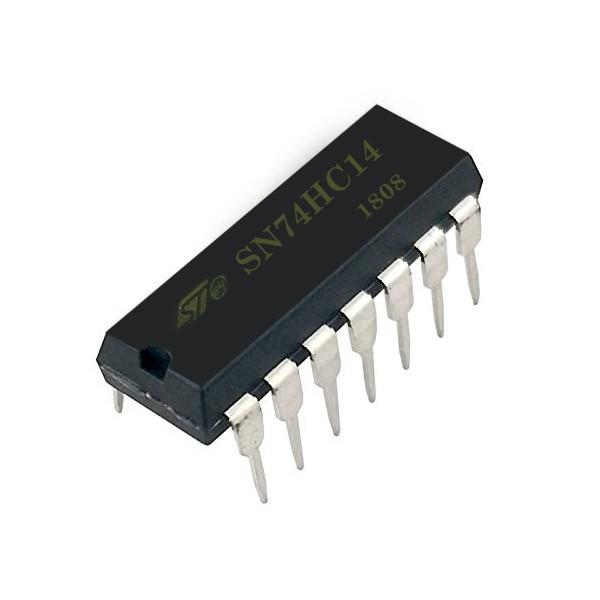 آی سی اس تی مایکروالکترونیکس مدل M74HC14B1