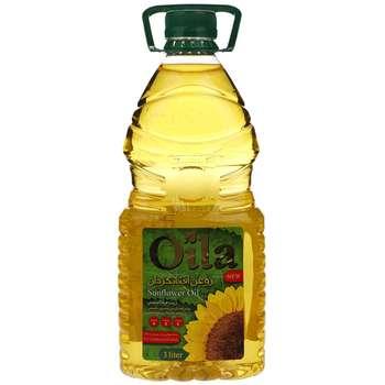 روغن مایع آفتابگردان اویلا - 3 لیتر