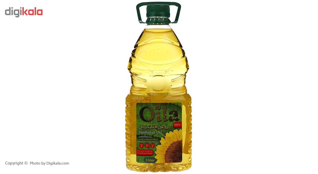 روغن مایع آفتابگردان اویلا - 3 لیتر main 1 2