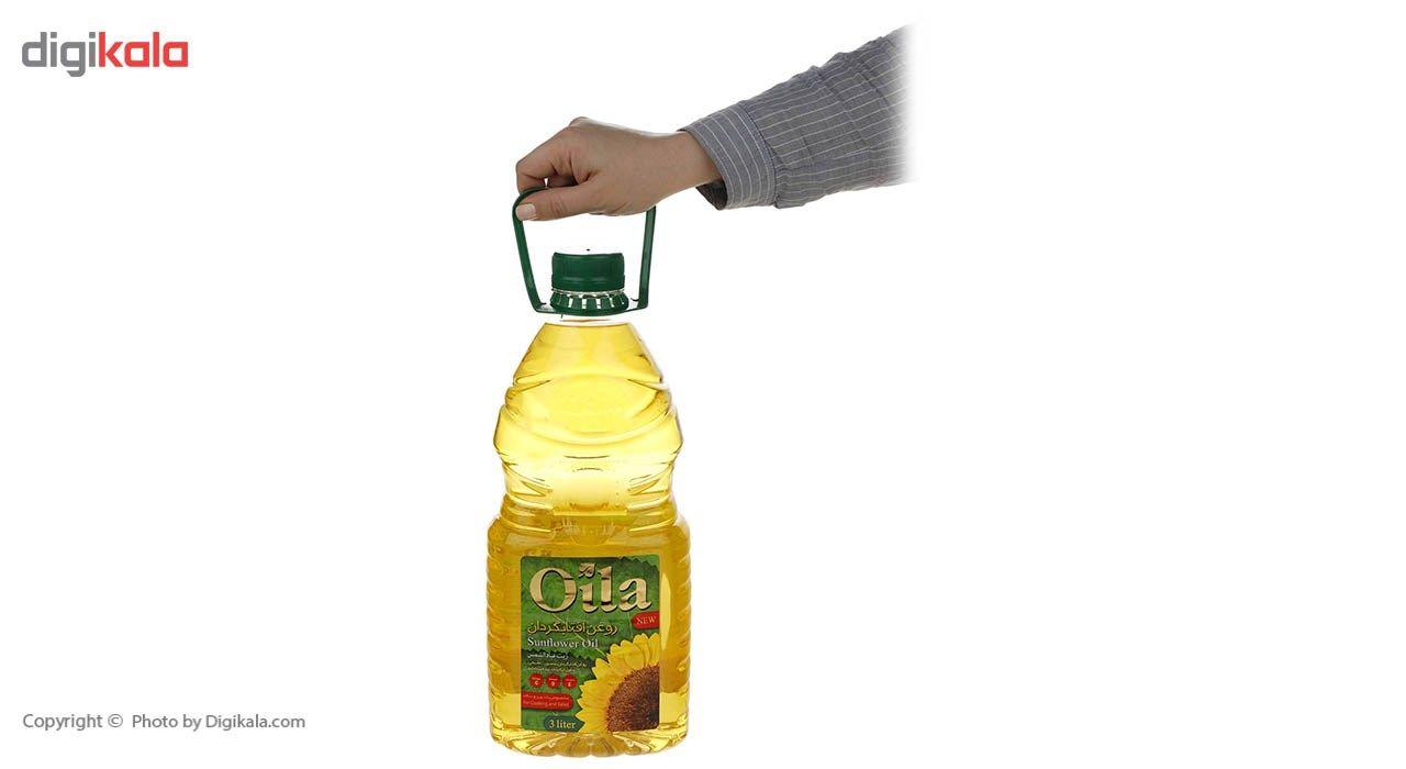 روغن مایع آفتابگردان اویلا - 3 لیتر main 1 4