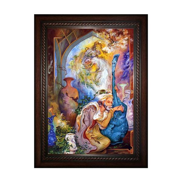تابلو چاپ سی طرح  اثر استاد فرشچیان کد 0123