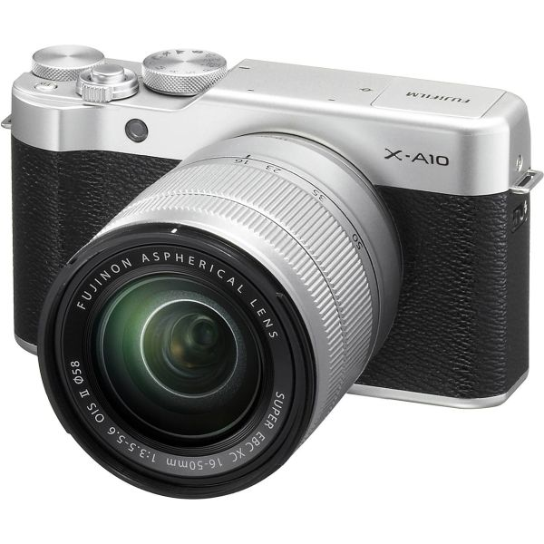 دوربین دیجیتال بدون آینه فوجی فیلم مدل X-A10 به همراه لنز 50-16 میلیمتر