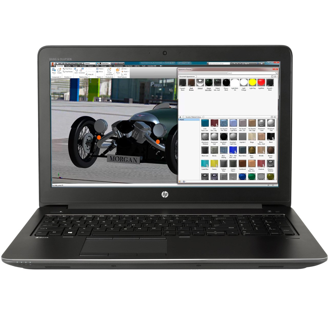 لپ تاپ 15 اینچی اچ پی مدل ZBook 15 G3 Mobile Workstation - B