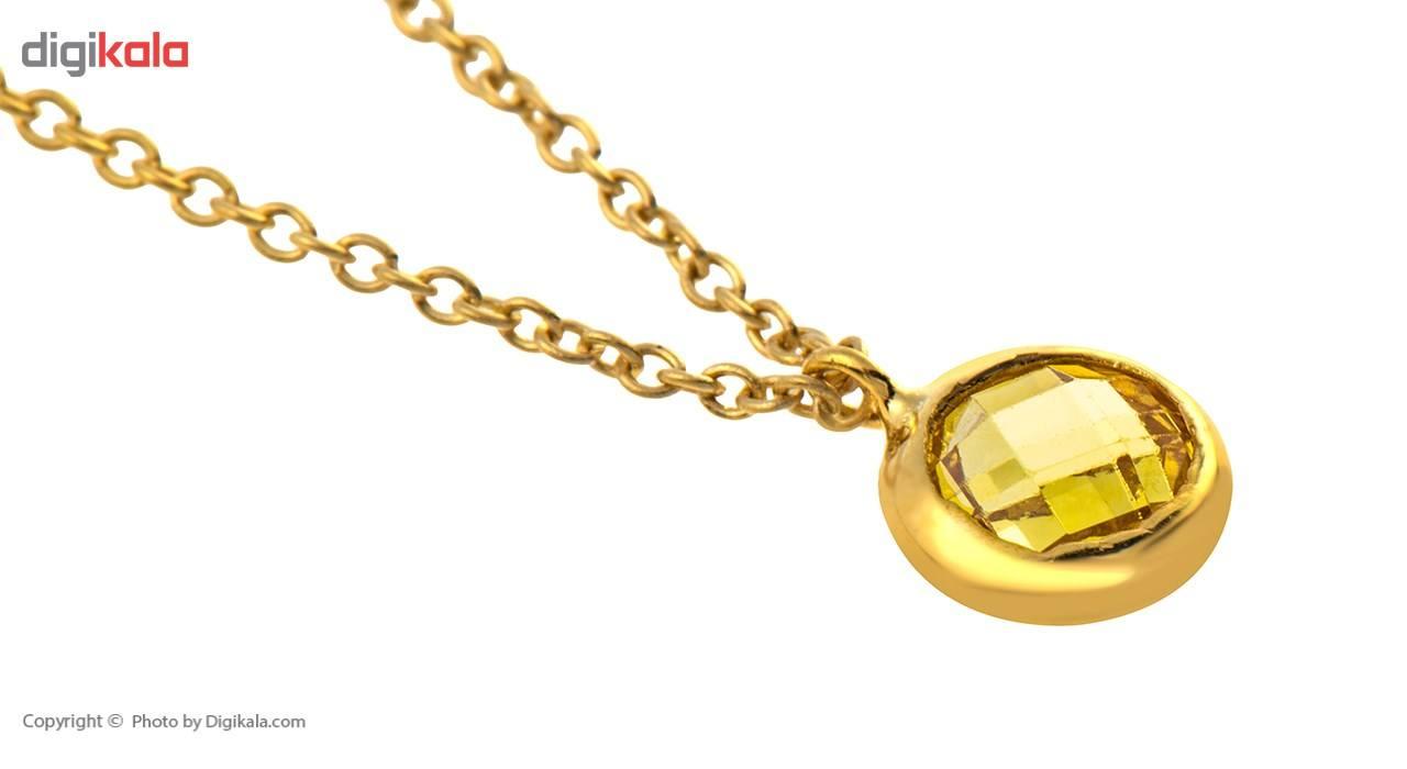 آویز ساعت طلا 18 عیار ماهک مدل MW0025 - مایا ماهک -  - 2