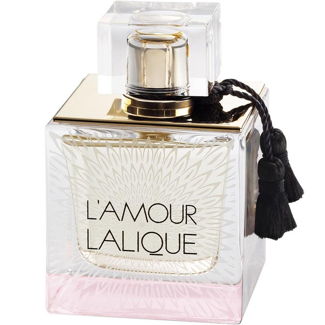 ادو پرفیوم زنانه لالیک مدل Le Amour حجم 100 میلی لیتر