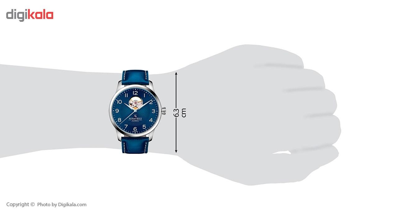 ساعت مچی عقربه ای مردانه آلبرت ریله مدل 136GA04-SS66A-LT