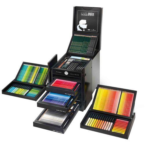 ست مداد رنگی فابرکاستل مدل Karl Box