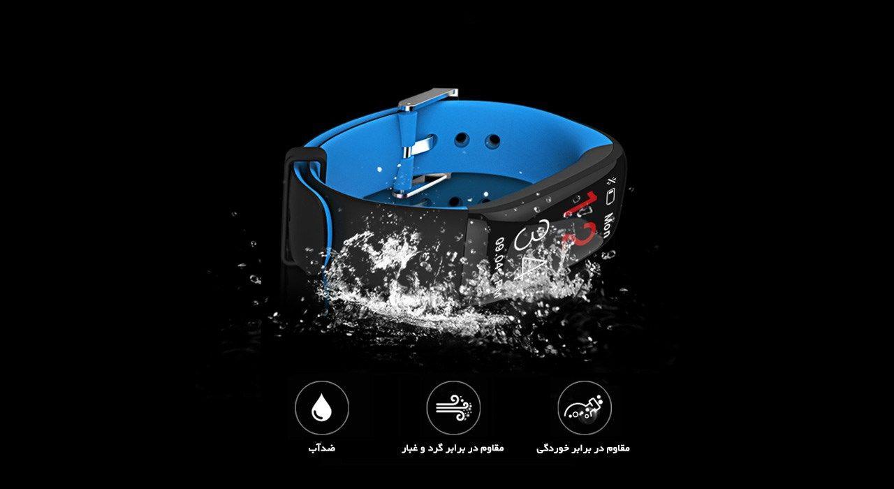 مچ بند هوشمند دابل سیکس مدل AK20  Blue -  - 3