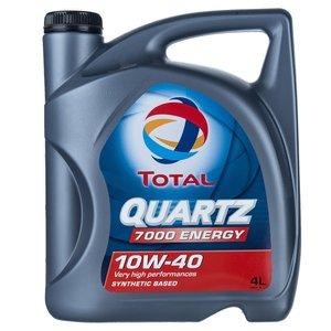 روغن موتور خودرو توتال مدل Quartz 7000 Energy حجم 4 لیتر