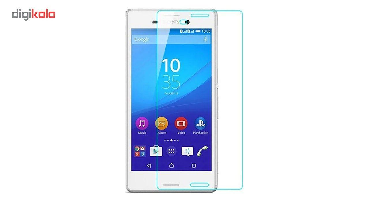 محافظ صفحه نمایش شیشه ای مدل Tempered مناسب برای گوشی موبایل سونی Xperia M4 main 1 1