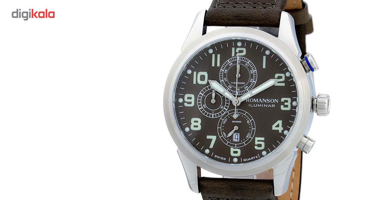 ساعت مچی عقربه ای مردانه رومانسون مدل AL6A14HMYWAAR5