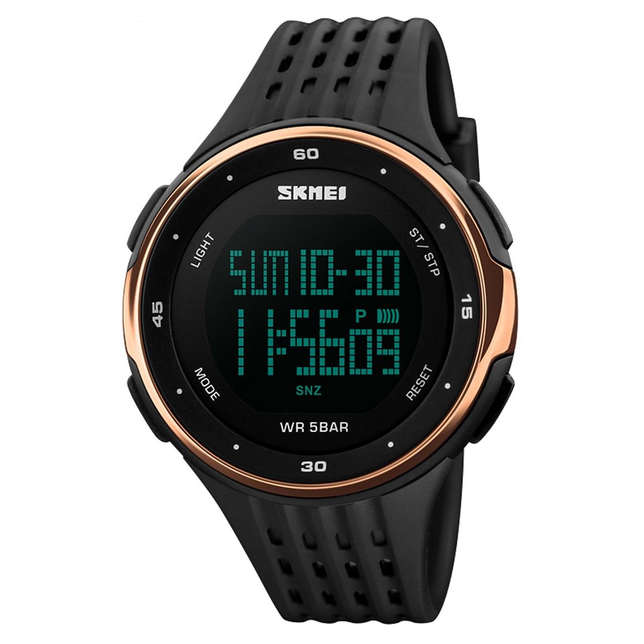 ساعت مچی عقربه ای مردانه اسکمی مدل S1219/Rosegold             قیمت