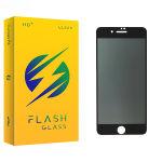 محافظ صفحه نمایش حریم شخصی فلش مدل +HD مناسب برای گوشی موبایل اپل iphone 7 Plus