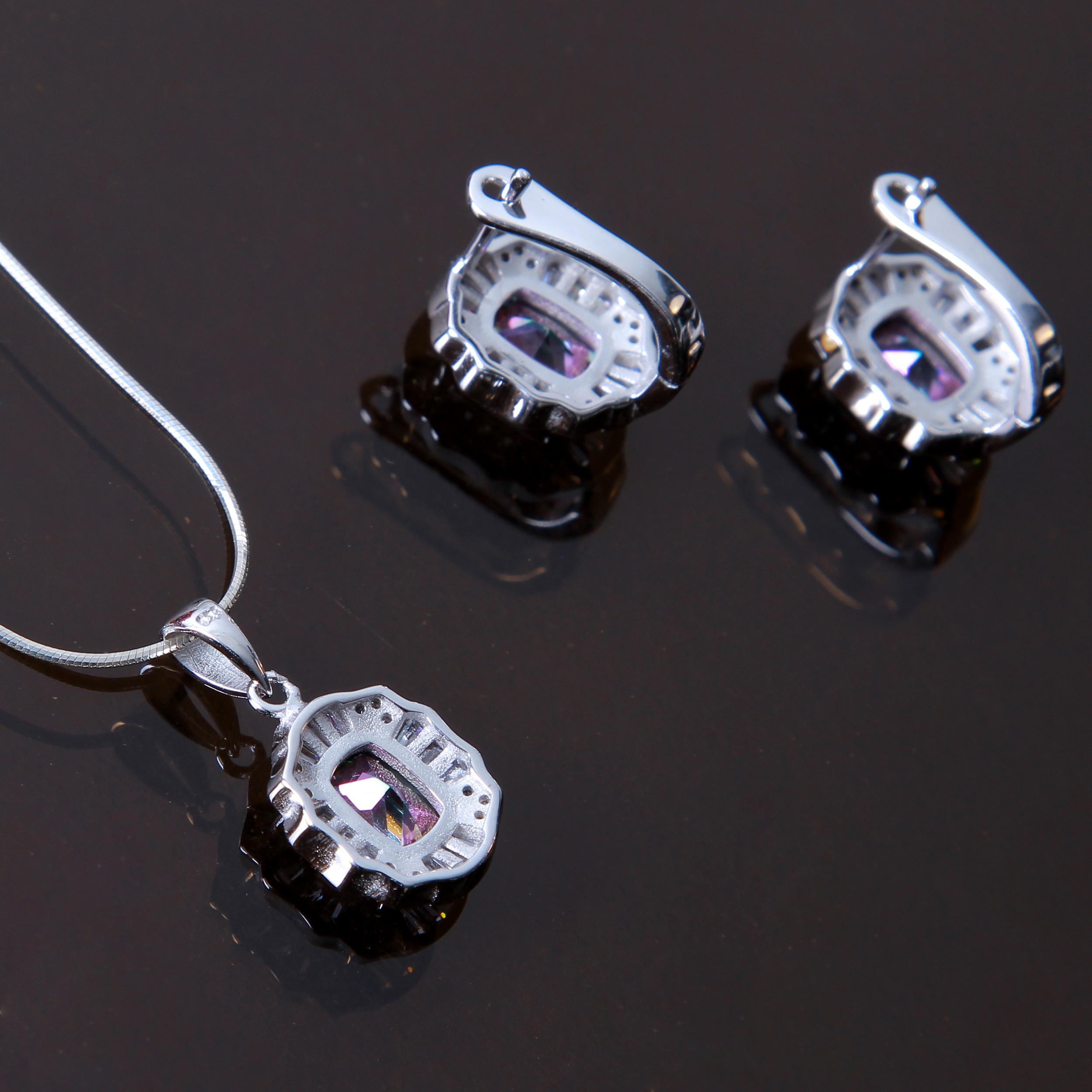 خرید                                        نیم ست نقره زنانه بازرگانی میلادی کد NTR_219