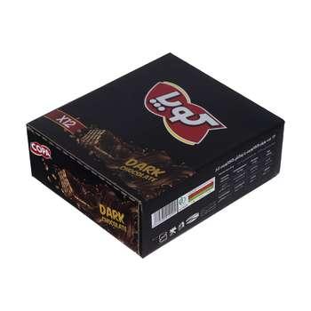 ویفر کاکائویی کوپا با طعم شکلات تلخ - 40 گرم بسته 12 عددی