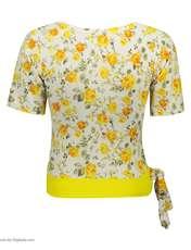 ست تی شرت و شلوارک زنانه کد 001 -  - 4