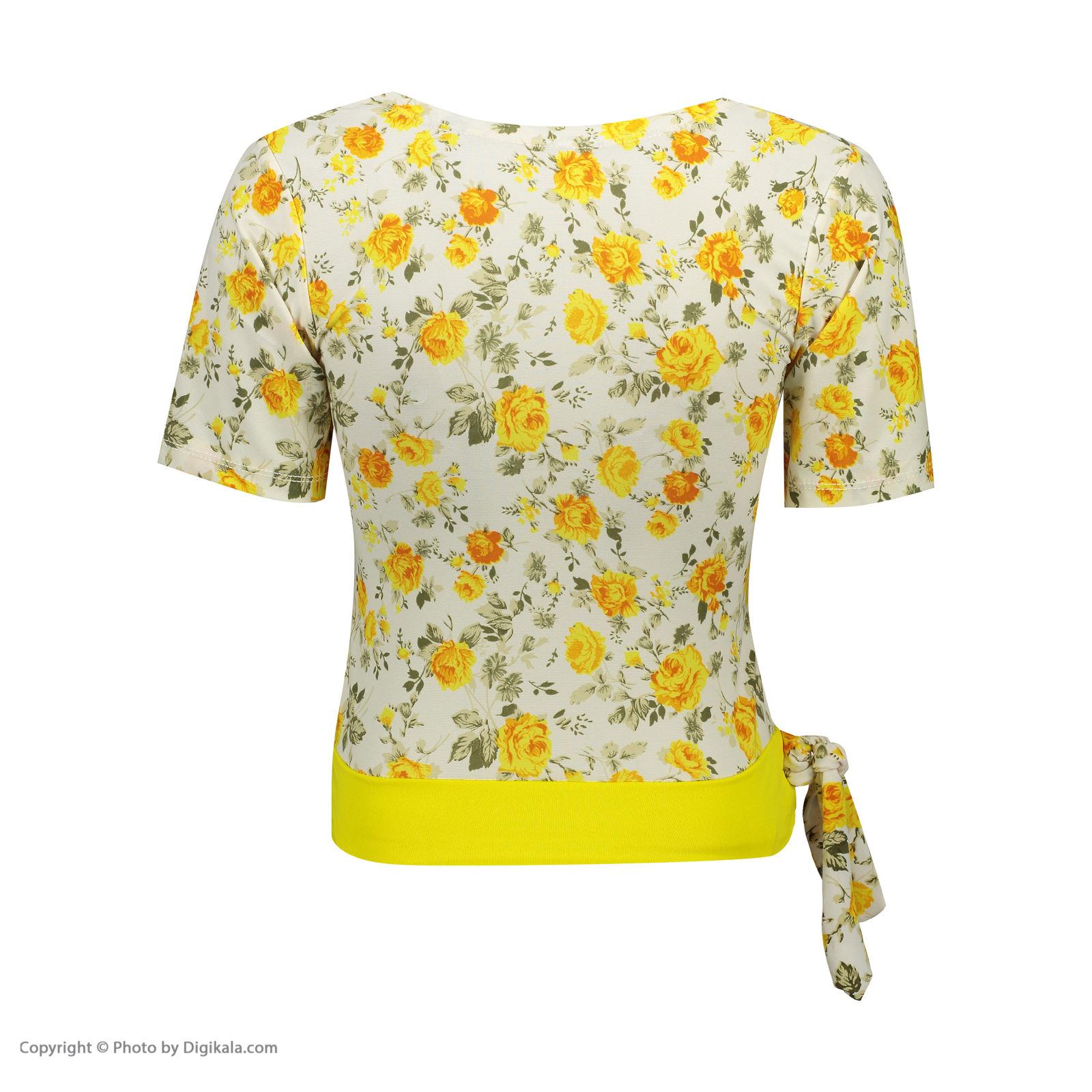 ست تی شرت و شلوارک زنانه کد 001 -  - 5