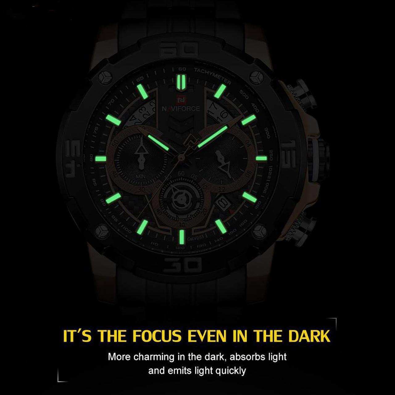 ساعت مچی عقربهای مردانه نیوی فورسمدل NF9175-S