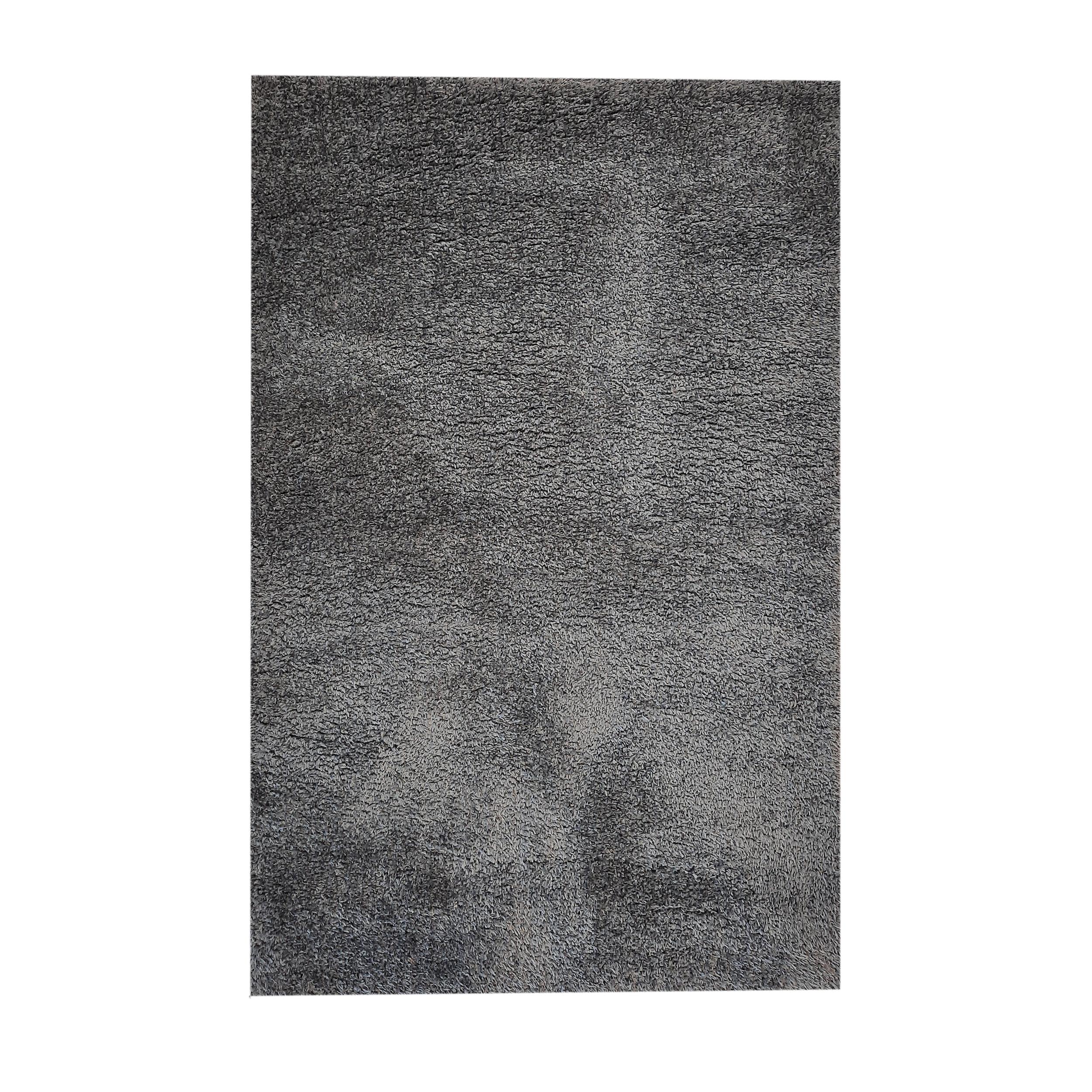 فرش ماشینی فرش مارکت تریتا مدل شگی کد 38 زمینه نوک مدادی