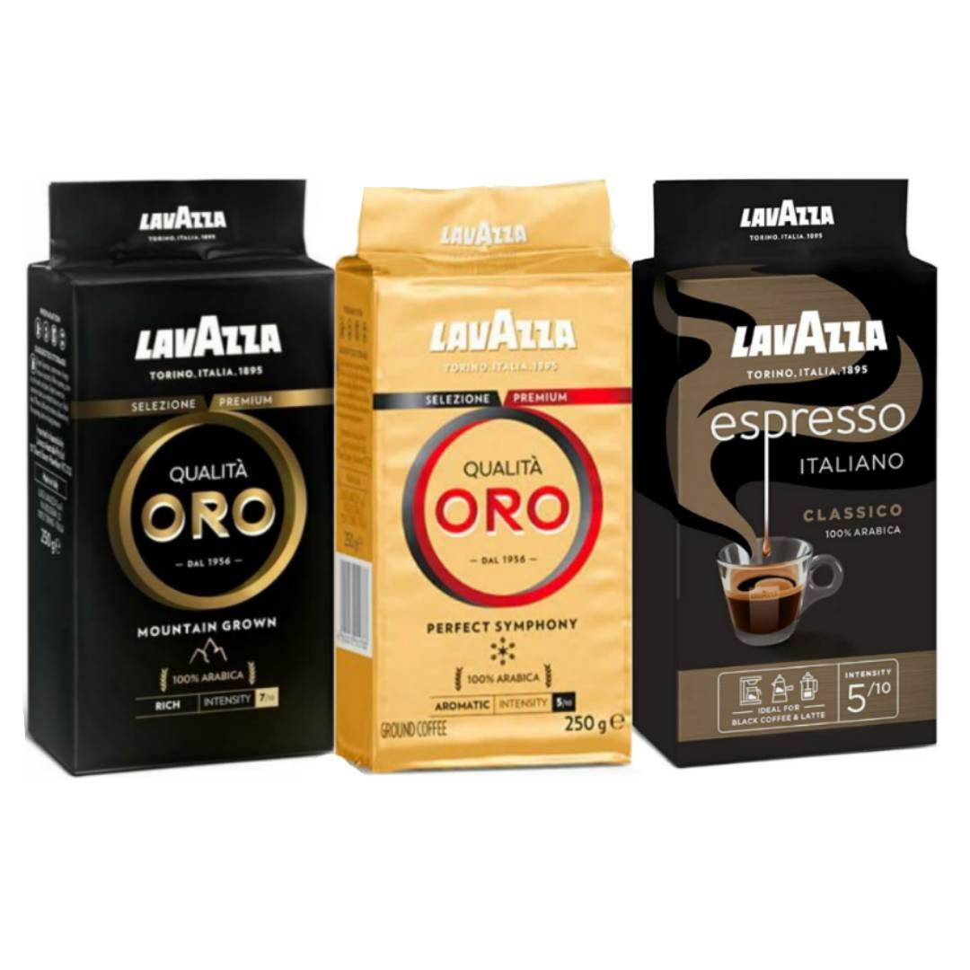 پودر قهوه لاواتزا - مجموعه ۳ عددی