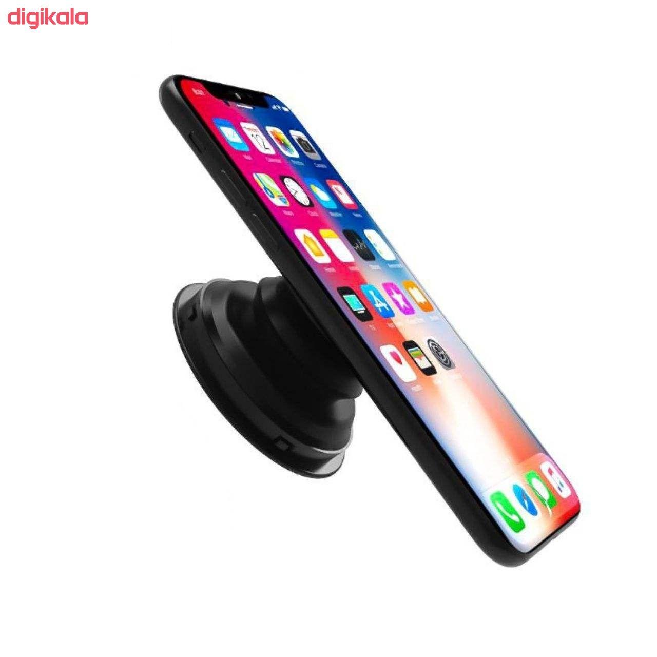 نگهدارنده گوشی موبایل مدل پایه نگهدارنده گوشی موبایل پاپ سوکت مدل F123 main 1 6