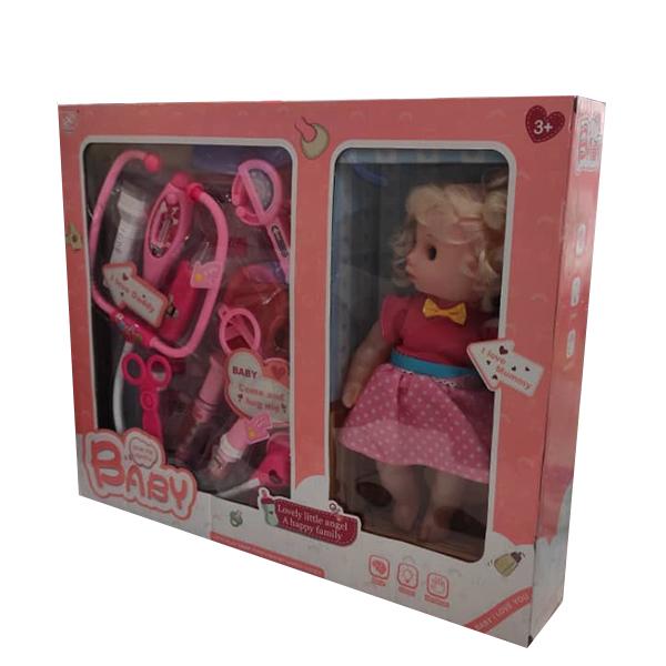 ست اسباب بازی تجهیزات پزشکی مدل عروسک