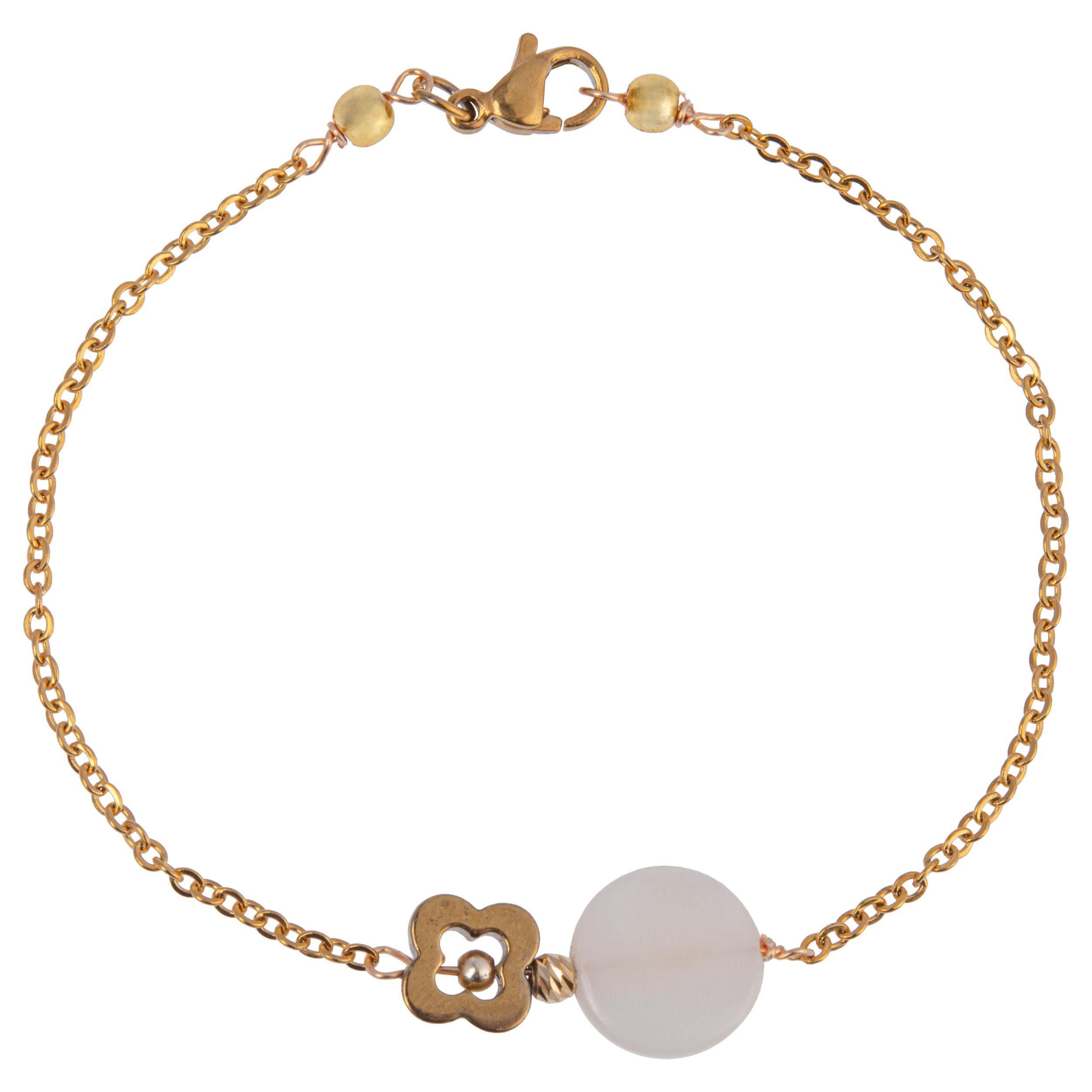 دستبند طلا 18 عیار زنانه مدل KU11