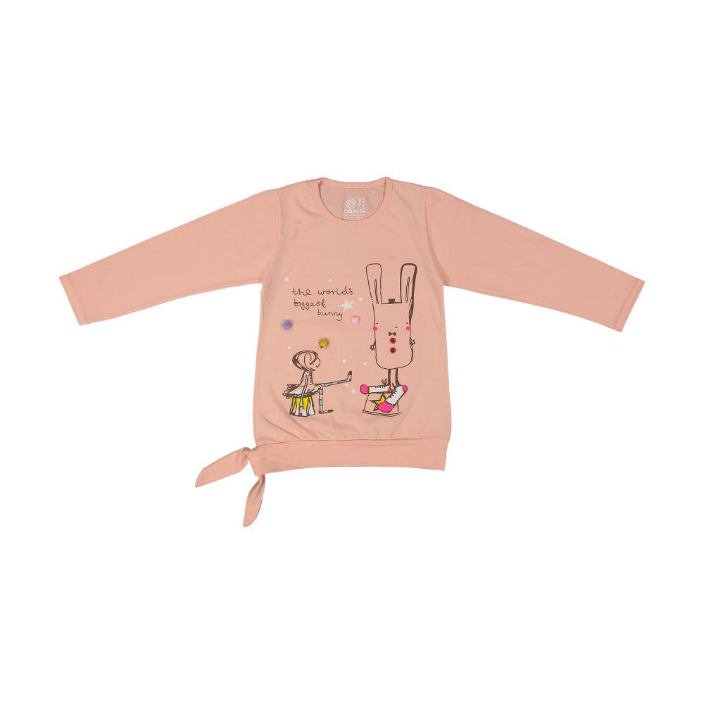 تی شرت دخترانه سون پون مدل 1391358-84