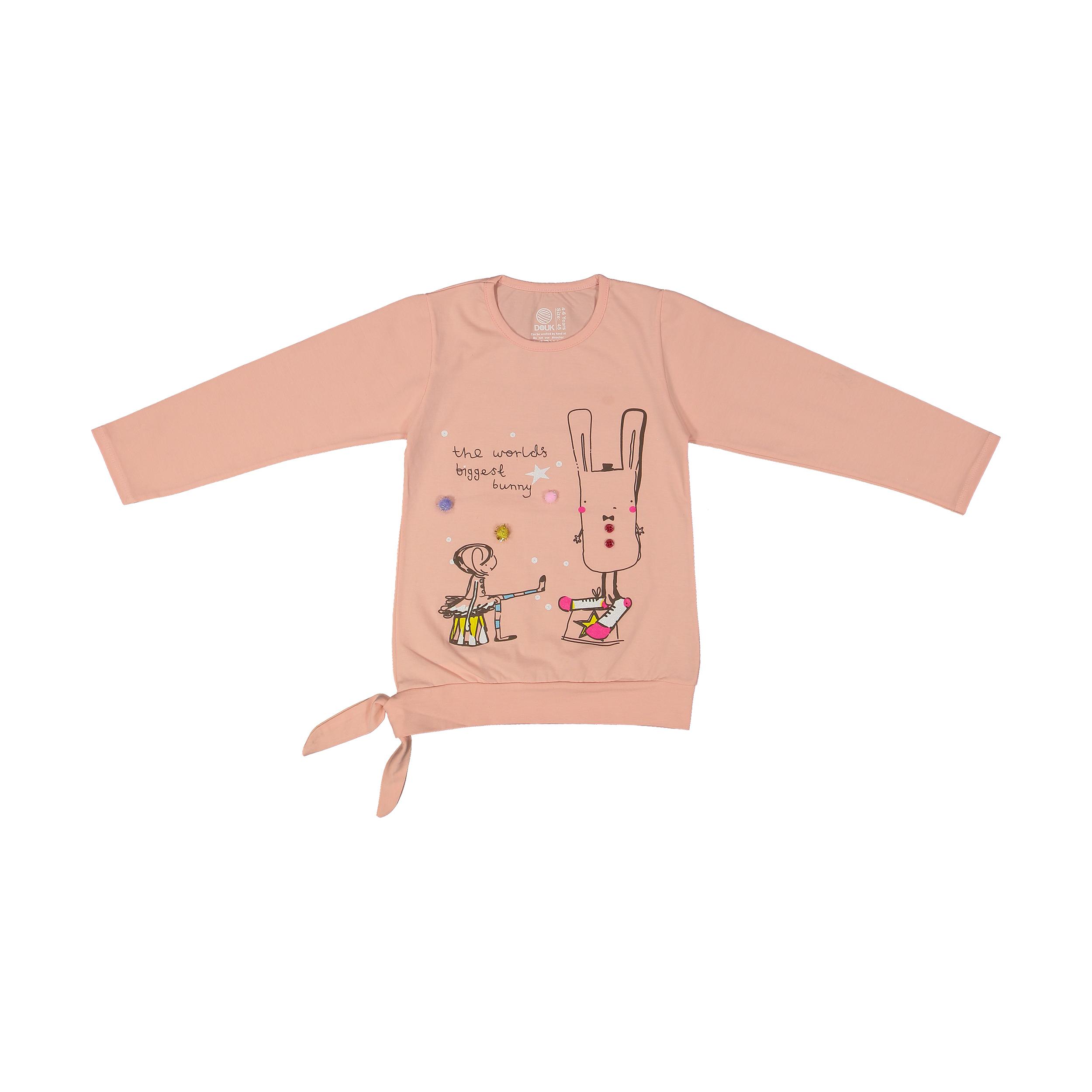 تی شرت دخترانه سون پون مدل 1391358-84 -  - 2