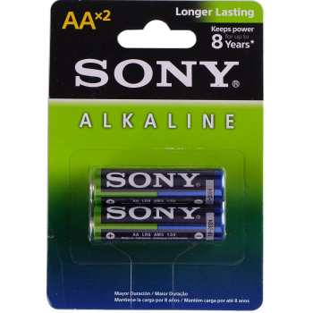 باتری قلمی سونی مدل Alkaline بسته 2 عددی