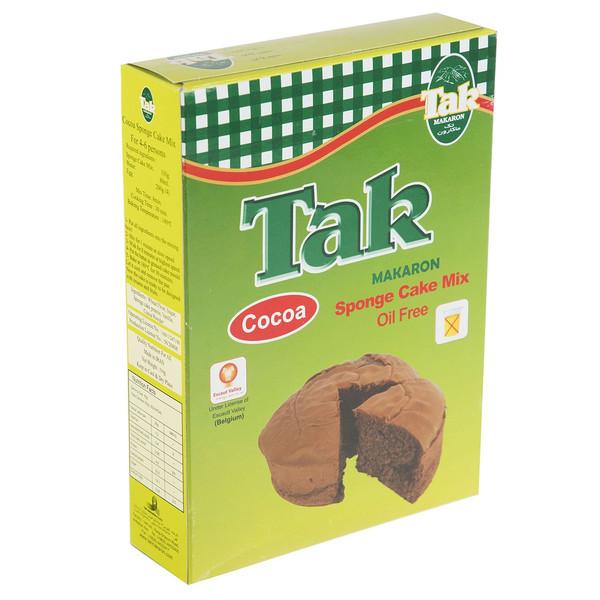 پودر کیک اسفنجی کاکائویی تک ماکارون مقدار 330 گرم