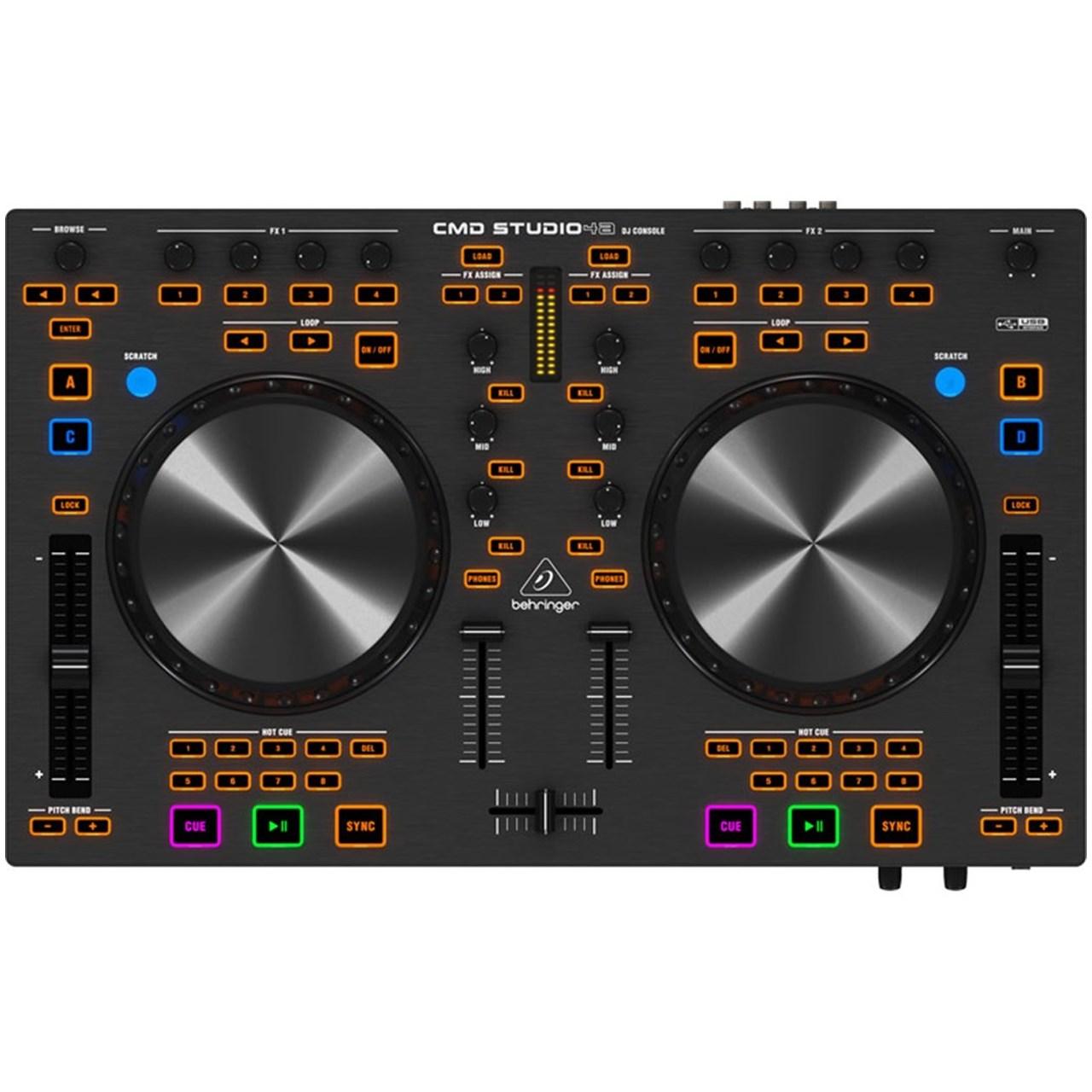 دی جی کنترلر بهرینگر مدل CMD Studio 4A
