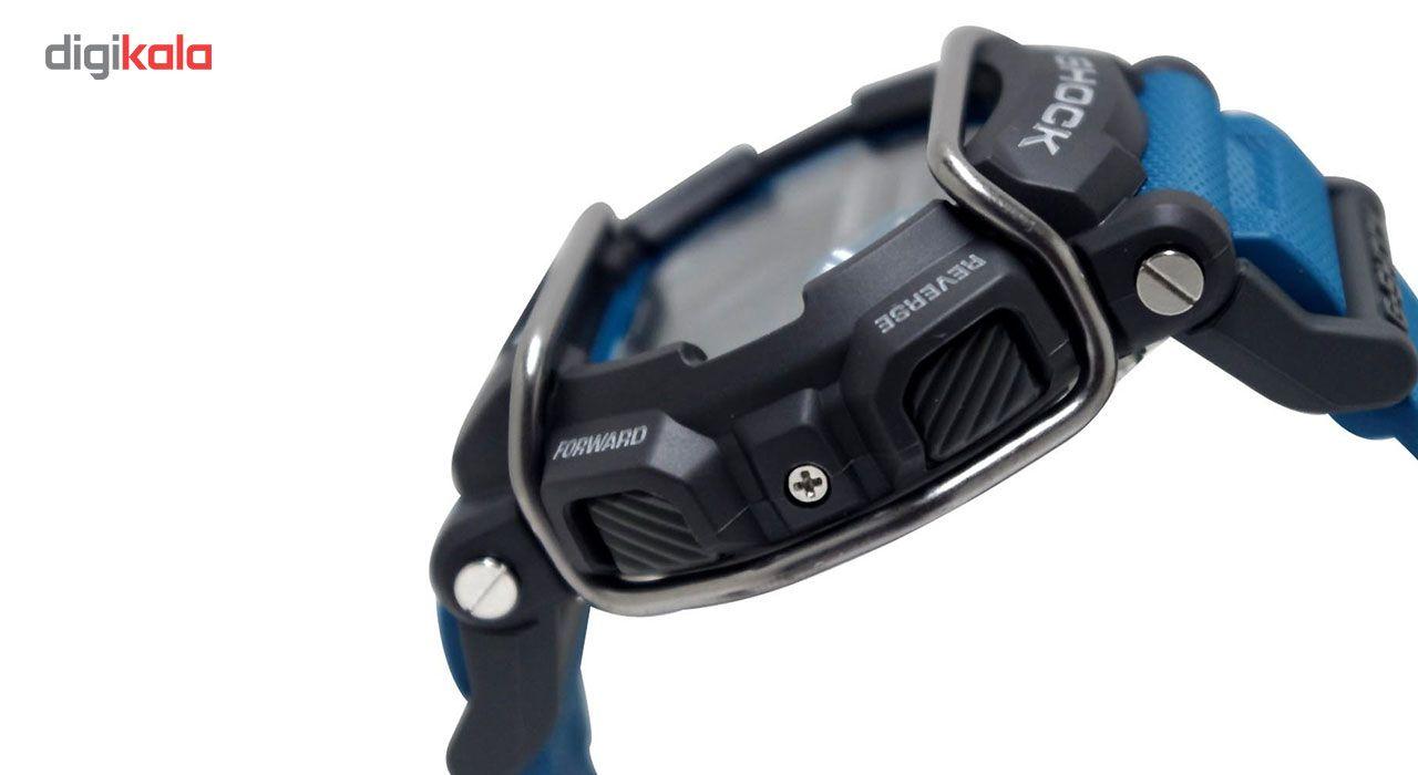 ساعت مچی دیجیتالی مردانه کاسیو جی شاک مدل GD-400-2DR -  - 3