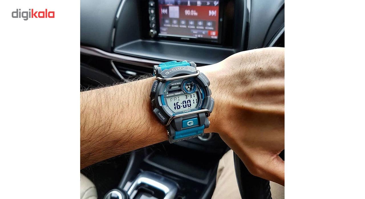 ساعت مچی دیجیتالی مردانه کاسیو جی شاک مدل GD-400-2DR -  - 5