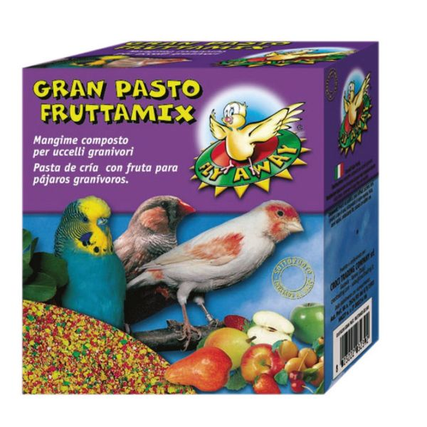 غذای خشک پرندگان زینتی مدل  Mixed Fruits وزن 0.3 کیلوگرم