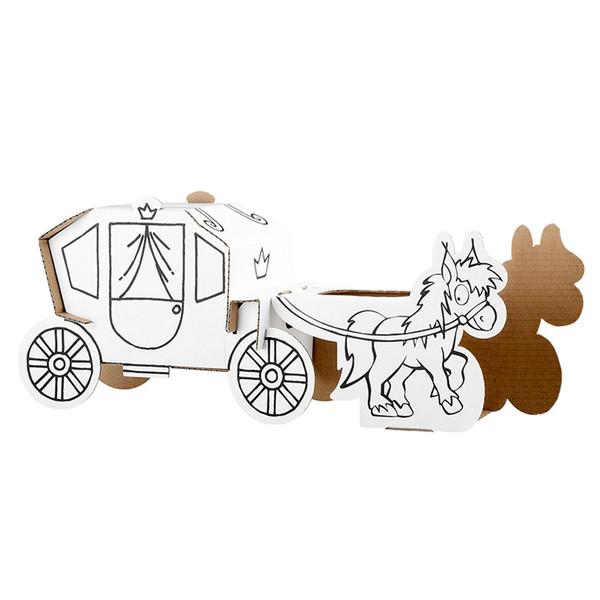 ماکت اسب و کالسکه کالافانت مدل A1106X