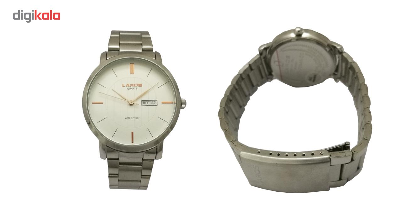 ساعت مچی عقربه ای مردانه لاروس مدل 0817-79945-dd