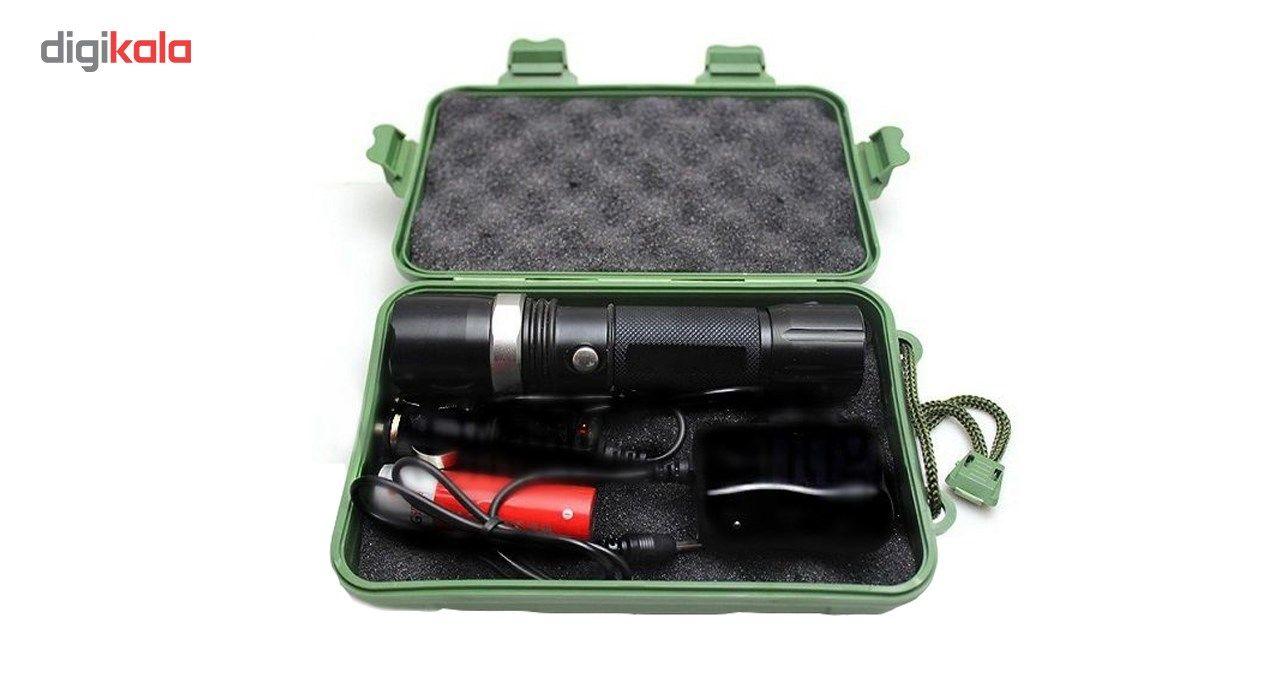 چراغ قوه پلیس مدل قابل شارژ  Power Style main 1 2