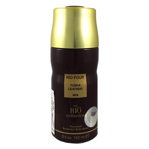 اسپری مردانه ریو کالکشن مدل Rio For Tuska Leather حجم 150ml