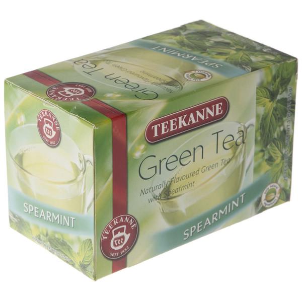 چای سبز کیسه ای تی کانه مدل Spearmint بسته 20 عددی