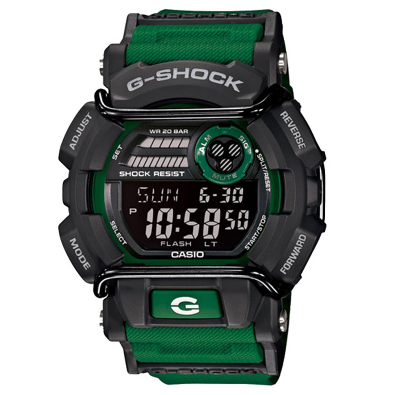 ساعت مچی دیجیتالی مردانه کاسیو جی شاک مدل GD-400-3DR 43
