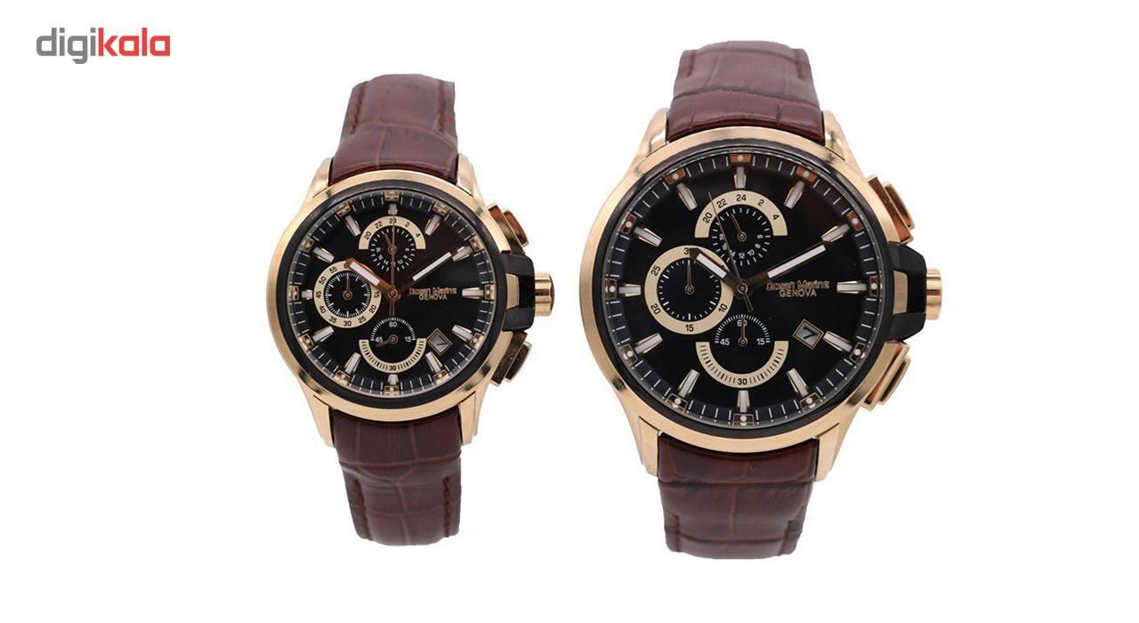 ساعت ست مردانه و زنانه اوشن مارین مدل Z-318Gc5 و Z-318Lc5 -  - 2