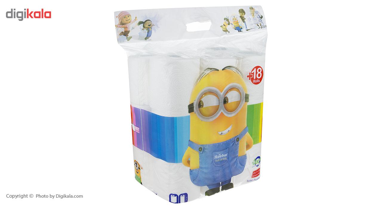 دستمال توالت هوبار بسته 18 عددی main 1 2