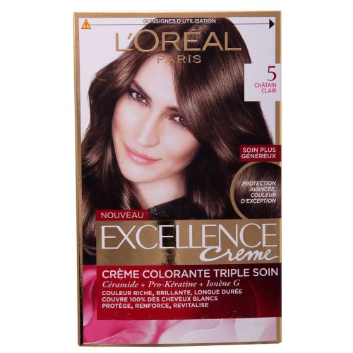 کیت رنگ مو لورآل شماره 5 Excellence