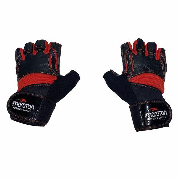 دستکش بدنسازی مدل مچبند دار کد SM-805 غیر اصل